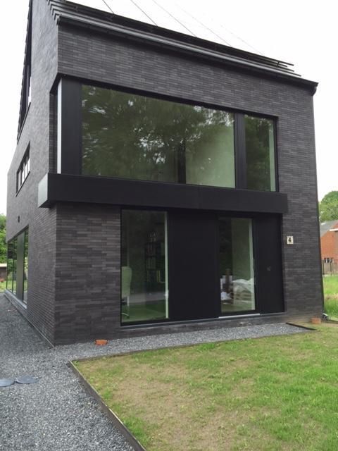 Nieuwbouw in aluminium zwart (P905RM)