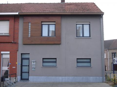 Nieuwbouw in alumium antraciet grijs (RAL 7016)